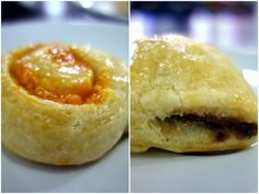 Hobby N Coffee in TTDI has light pastries like custard strudels, kaya whirls and red bean bars.