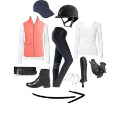 """""""Tacking up ---> Riding"""" by stelladanza on Polyvore"""