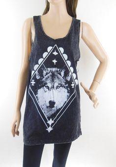 Wolf Shirt Wolf Tshirt Art Shirt Men Tshirt Women by sinclothing