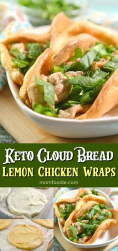 The Rise Of Private Label Brands In The Retail Meals Current Market Keto Cloud Bread Lemon Chicken Wraps Low Carb Chicken Recipes, Low Carb Recipes, Diet Recipes, Healthy Recipes, Diabetic Recipes, Low Carb Wraps, Cloud Bread, Popular Recipes, Popular Food