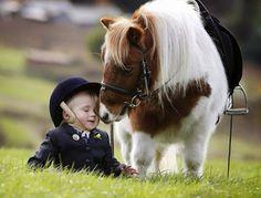 Mi amigo el pony :)