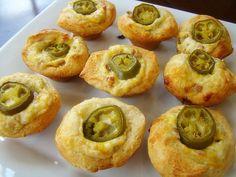 Krista's Kitchen: Jalapeno Popper Cups