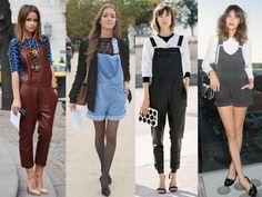 Jardineiras jeans mais sofisticadas para as fashionistas! http://vilamulher.terra.com.br/jardineira-jeans-como-usar-9-5007479-5926-pfi-josiemantilla.html