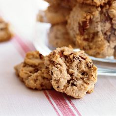 These easy chocolate oatmeal drop cookies are crisp on the outside and slightly chewy on the inside. Chocolate minichips disperse better in the batter, but you can use regular chips.