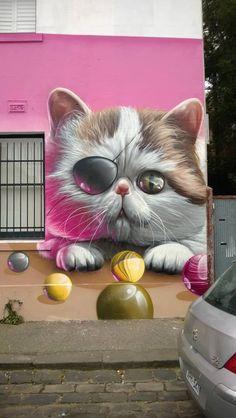 Street art in Melbourne Australia #streetart #graffiti #Street art