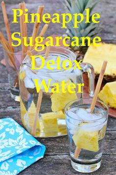 Detox water is the latest diet craze to take off in recent years, and it looks…