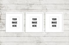 Product Mockup Digital Empty white Frames Three by moderncolormix