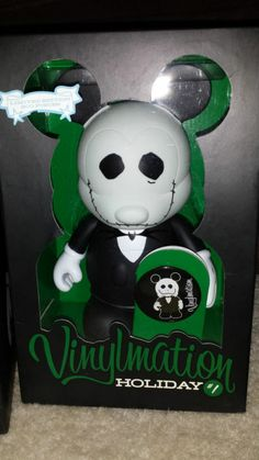Nightmare Before Christmas Vinylmation Disney Holiday Series 1 Jack Skellington