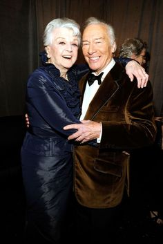 Angela Lansbury and Christopher Plummer. So classy!