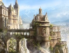 Beauty and the Beast (concept) by François Baranger | Fantasy | 2D | CGSociety