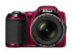Nikon Coolpix L820 Digitalkamera (16 Megapixel, 30-fach o…