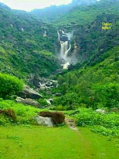 Uff, What's a beauty,great nature beauty of God, wonderful photography of the Char waterfall Buner valley Swat Khyber Pakhtunkhwa Pakistan