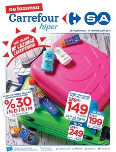 Carrefour marketlerde indirim günleri devam ediyor. Carrefour indirimlerinde bu hafta27 Haziran - 14 Temmuz 2017 tarihleri arasında birçok fırsat sizleri bekliyor. Carrefour güneş ürünlerinde %30 indirim fırsatı sizleri bekliyor. Algida dondurmalarda ikinci ürüne özel %50 indirim! Carrefour indirim fırsatlarını aşağıdaki kampanya kataloğunda inceleyebilirsiniz.