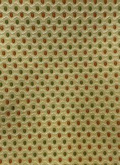 Geometric green tones heavy plush fabric for Upholstery-Curtain-Cushions