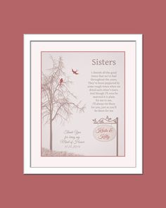 Wedding Day Gift For Sister : Wedding Day Gift For Sister - Maid Of Honor Gift - Sister Wedding Day ...