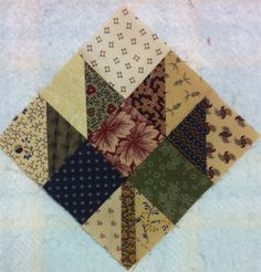 maple leaf quilt. Love the quilting.