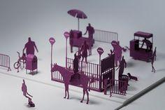japanese paper artist terada mokei