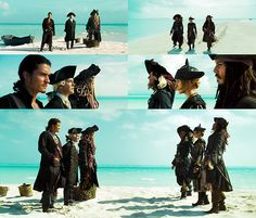 Pirates of the Caribbean: At World's End - AHAHAHA Davy Jones and his bucket of water.