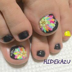 toe nail art design ideas | for summer fall | nail art