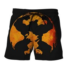 Dragon Ball Z Cool Kid Goku & Great Ape Evolution Boardshorts Kid Goku, Short Waist, Summer Shorts, Printed Shorts, Dragon Ball Z, Cool Kids, One Piece, Cool Stuff, Stylish