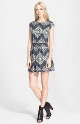 Alice + Olivia Geo Print Dress