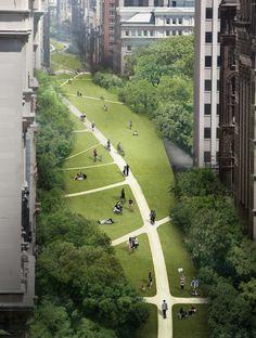 EDG loop NYC micro-highway designboom 01
