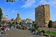 土耳其南部大城安塔利亞Antalya市區景色之二。 © Sheriff Serdar Kurudere