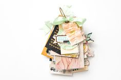 Maggie Holmes Mini Album Class-33 Mini Albums Scrap, Mini Scrapbook Albums, Pink Crafts, Paper Crafts, Crate Paper, Stampin Up Christmas, Mini Books, Flip Books, Studio Calico