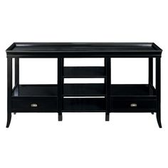 I pinned this Tamara Media Console in Ebony from the Bailey Street event at Joss and Main!