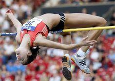 atletismo y algo más: @Recuerdos año 2008. #Atletismo. 378. La saltadora...