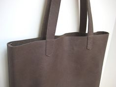 Leather is incredibly durable and classically appealing. A well made leather tote bag will last years and still look great.