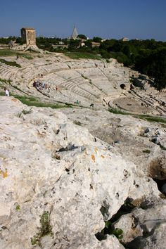 Greek theatre in Siracuse...enchanting gem of a glorious past #Sicily #Archaeology #Syracuse