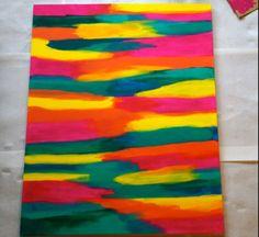 Color pattern felt