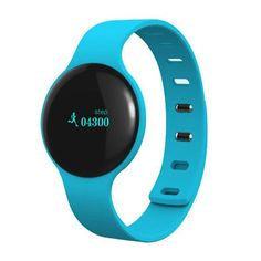 CIYOYO Smart watch Bluetooth Low Energy Smart Bracelet Pedometer with Tracking Steps,Distance,Calories/Anti-Lost,Call Reminder,Messages Reminder for iOS iPhone Android phone Samsung HTC(Blue) Tracker Fitness, Waterproof Fitness Tracker, Fitness Sport, Health Fitness, Fitness Band, Smart Bracelet, Bracelet Watch, Best Fitness Watch, Fitness Watches For Women