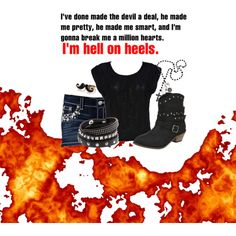 """Hell on Heels"" by countrygurl16 on Polyvore"