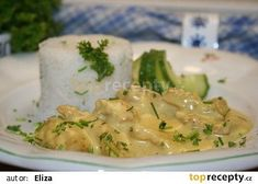 Rychlé kuře na kari recept - TopRecepty.cz Asparagus, Potato Salad, Mashed Potatoes, Chicken Recipes, Food And Drink, Treats, Vegetables, Cooking, Ethnic Recipes