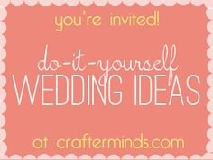 DIY Wedding Ideas for your wedding - * THE COUNTRY CHIC COTTAGE (DIY, Home Decor, Crafts, Farmhouse)