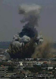 Gaza now.