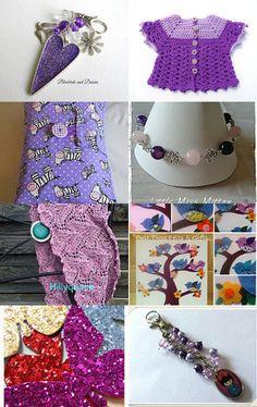 Popular purple  by Karen Matthews on Etsy--Pinned with TreasuryPin.com