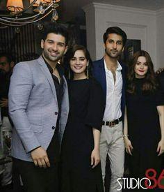 Pakistani Bridal Wear, Pakistani Outfits, Aimen Khan, Travel Dress, Desi Wedding, Pakistani Actress, Celebs, Celebrities, Beautiful Couple