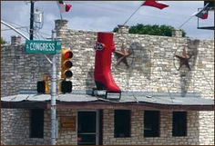 Allens Boots - South Congress - pick up a pair of boots or western wear here