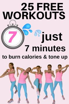 Fitness Workout For Women, Fitness Diet, Fitness Gear, Fitness Quotes, Home Workout Videos, At Home Workouts, Whole Body Workouts, Tummy Workout, Keep Fit