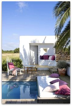 a gorgeous house at Formentera Spain