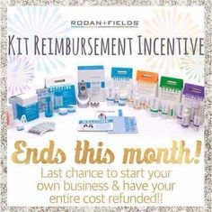 If you've been watching and considering doing this with me OR just wondering more about it, now is the time to move on it. This is an INSANELY AWESOME offer!!  Imagine starting up a business and then getting reimbursed for all of it!  WOW!!  What other company offers reimbursement of start-up costs?? Let me know when you want to chat!  But don't wait long. This offer will end January 31!! You have TWENTY (20) days left!
