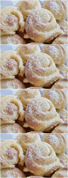 Bread Recipes, Cake Recipes, Dessert Recipes, Cooking Recipes, Desserts, Pan Dulce, Croissants, Yummy Cakes, Sweet Recipes