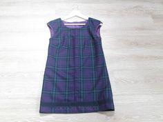 Wool dress, lined