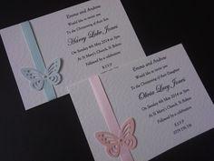 christening invitations handmade - Google Search