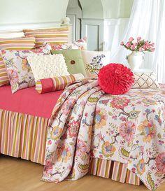 floral, girly bedroom - Bedding Envy