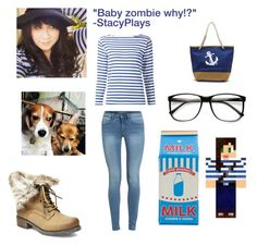 """""""""""Stacyplays"""" inspired outfit"""" by shadowdragon21 ❤ liked on Polyvore featuring Yves Saint Laurent, Steve Madden and ZeroUV"""