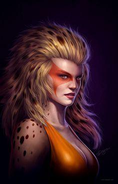 Thundercats - Cheetara by Nick Deligaris *